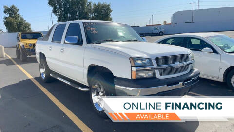 2004 Chevrolet Avalanche for sale at Rock Star Auto Sales in Las Vegas NV