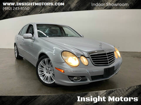 2008 Mercedes-Benz E-Class for sale at Insight Motors in Tempe AZ
