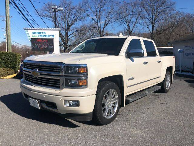 2015 Chevrolet Silverado 1500 for sale at Sports & Imports in Pasadena MD