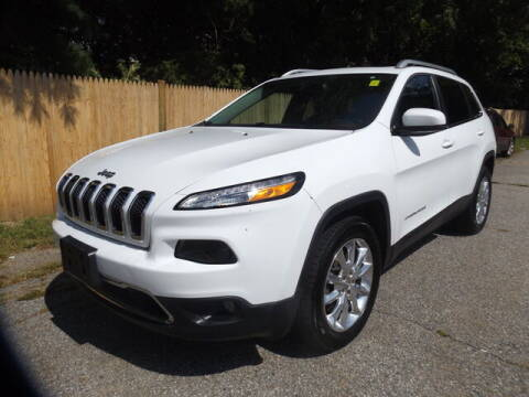 2014 Jeep Cherokee for sale at Wayland Automotive in Wayland MA
