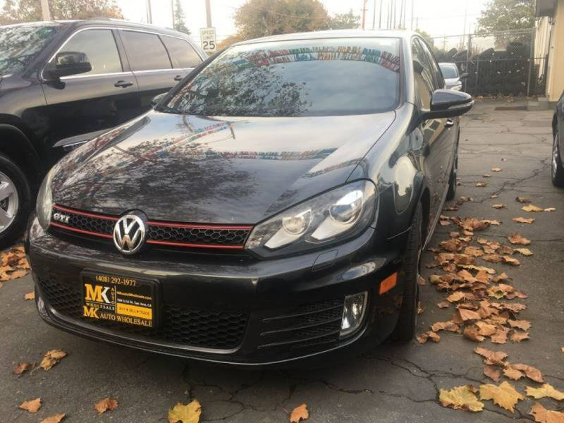 2011 Volkswagen GTI for sale at MK Auto Wholesale in San Jose CA