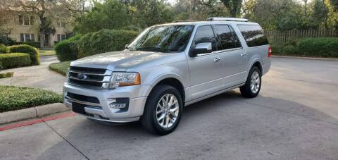 2015 Ford Expedition EL for sale at Motorcars Group Management - Bud Johnson Motor Co in San Antonio TX
