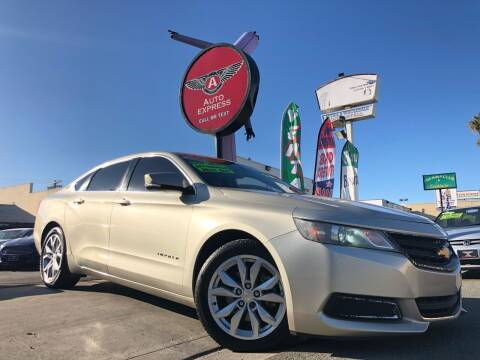 2014 Chevrolet Impala for sale at Auto Express in Chula Vista CA