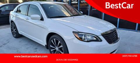 2012 Chrysler 200 for sale at BestCar in Kissimmee FL
