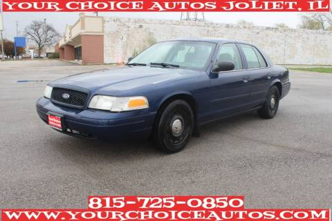 2003 Ford Crown Victoria for sale at Your Choice Autos - Joliet in Joliet IL