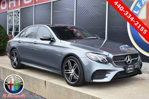2018 Mercedes-Benz E-Class for sale at Alfa Romeo & Fiat of Strongsville in Strongsville OH