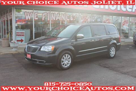 2012 Chrysler Town and Country for sale at Your Choice Autos - Joliet in Joliet IL