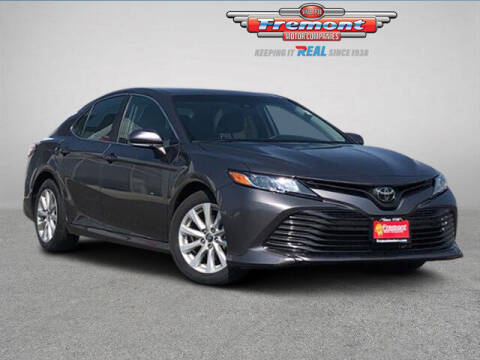 2018 Toyota Camry for sale at Rocky Mountain Commercial Trucks in Casper WY