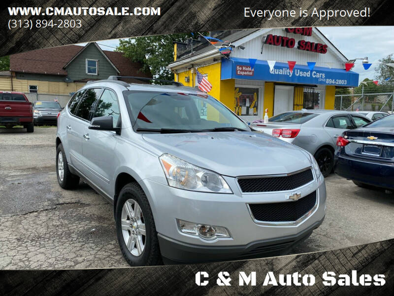 2012 Chevrolet Traverse for sale at C & M Auto Sales in Detroit MI
