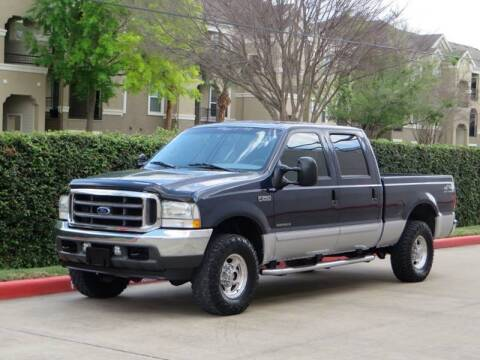 2002 Ford F-250 Super Duty for sale at RBP Automotive Inc. in Houston TX