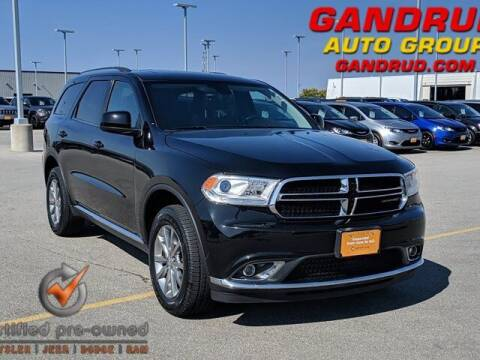 2017 Dodge Durango for sale at Gandrud Dodge in Green Bay WI