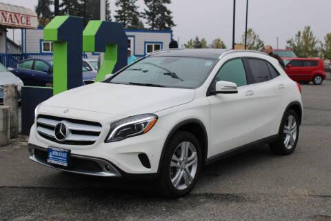 2015 Mercedes-Benz GLA for sale at BAYSIDE AUTO SALES in Everett WA