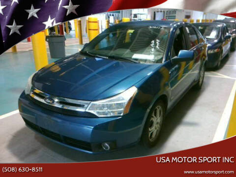 2009 Ford Focus for sale at USA Motor Sport inc in Marlborough MA