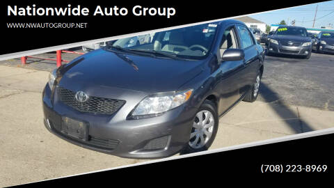 2010 Toyota Corolla for sale at Nationwide Auto Group in Melrose Park IL