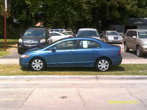 2007 Honda Civic for sale at D & D Auto Sales in Topeka KS