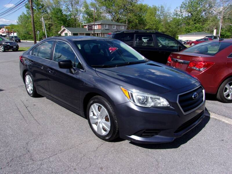 2015 Subaru Legacy for sale at THURMONT AUTO SALES in Thurmont MD
