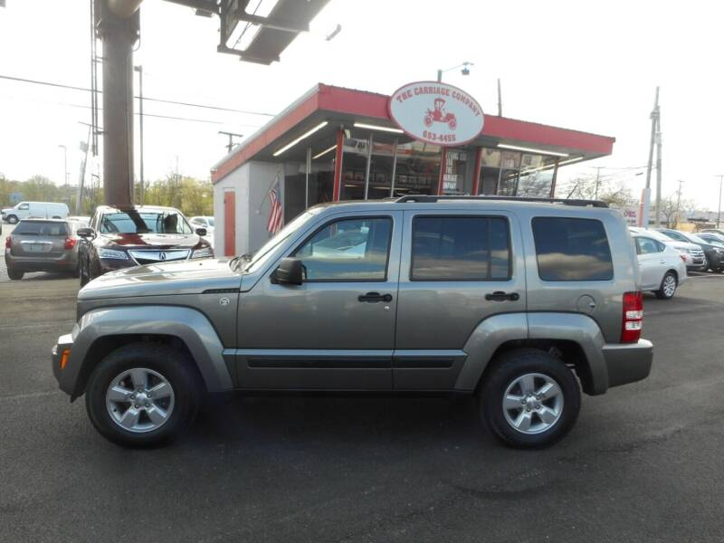2012 Jeep Liberty for sale at The Carriage Company in Lancaster OH