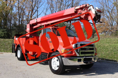 2005 Ford F-750 Super Duty for sale at Signature Truck Center in Crystal Lake IL