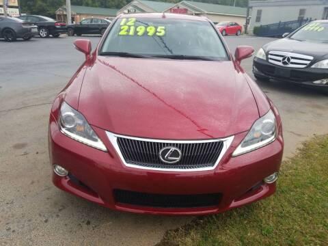 2012 Lexus IS 250C for sale at AUTOPLEX 528 LLC in Huntsville AL