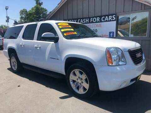 2014 GMC Yukon XL for sale at Devine Auto Sales in Modesto CA