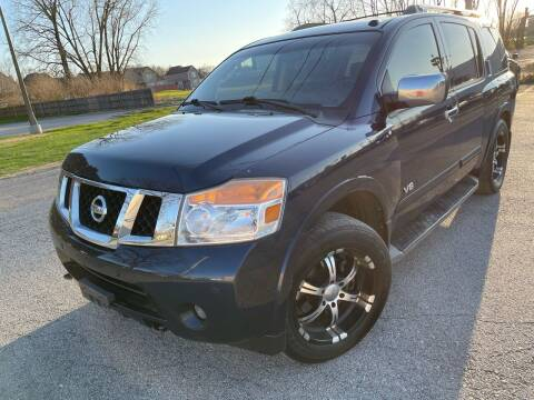 2008 Nissan Armada for sale at Supreme Auto Gallery LLC in Kansas City MO