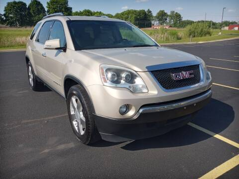 2008 GMC Acadia for sale at Quality Motors Inc in Indianapolis IN