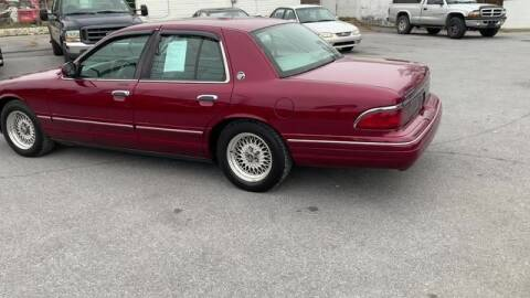 1995 Mercury Grand Marquis for sale at King Motors featuring Chris Ridenour in Martinsburg WV