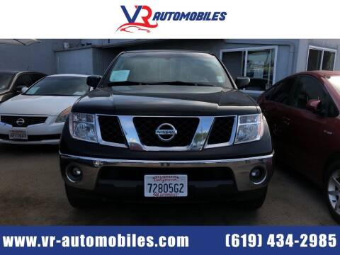 2007 Nissan Frontier for sale at VR Automobiles in National City CA