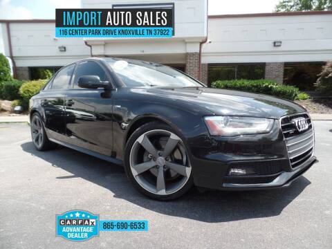 2014 Audi A4 for sale at IMPORT AUTO SALES in Knoxville TN