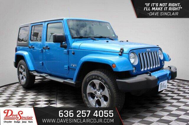 2016 Jeep Wrangler Unlimited for sale at Dave Sinclair Chrysler Dodge Jeep Ram in Pacific MO