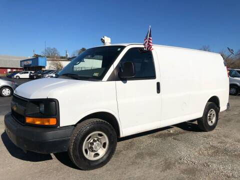 2013 Chevrolet Express Cargo for sale at Mega Autosports in Chesapeake VA