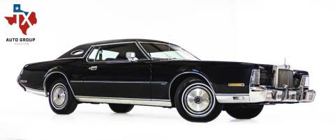 1973 Lincoln Continental for sale at TX Auto Group in Houston TX