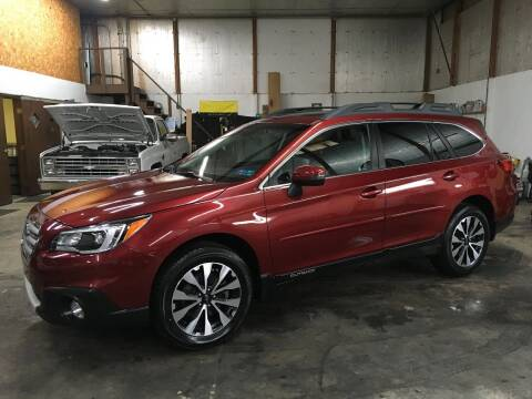 2017 Subaru Outback for sale at T James Motorsports in Gibsonia PA