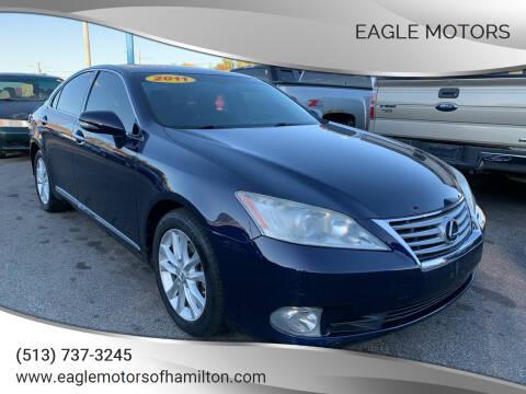 2011 Lexus ES 350 for sale at Eagle Motors in Hamilton OH
