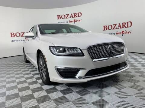 2019 Lincoln MKZ Hybrid for sale at BOZARD FORD in Saint Augustine FL