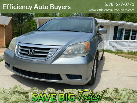 2009 Honda Odyssey for sale at Efficiency Auto Buyers in Milton GA