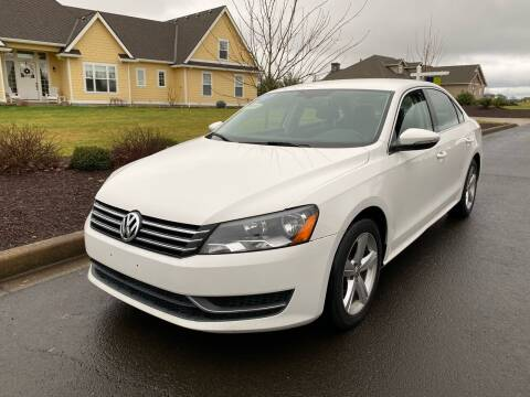 2012 Volkswagen Passat for sale at McMinnville Auto Sales LLC in Mcminnville OR