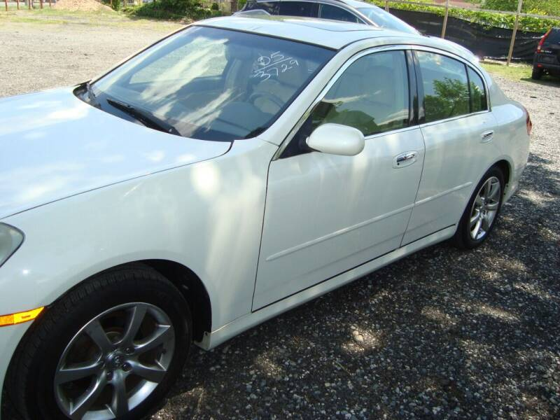 2005 Infiniti G35 for sale at Branch Avenue Auto Auction in Clinton MD
