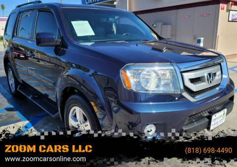 2011 Honda Pilot for sale at ZOOM CARS LLC in Sylmar CA