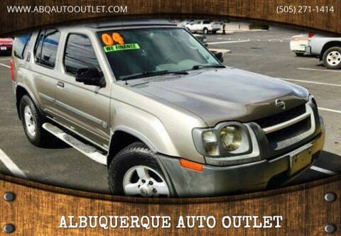 2004 Nissan Xterra for sale at ALBUQUERQUE AUTO OUTLET in Albuquerque NM