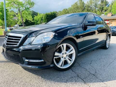 2012 Mercedes-Benz E-Class for sale at Classic Luxury Motors in Buford GA