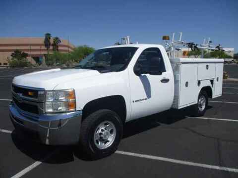 2008 Chevrolet Silverado 2500HD for sale at Corporate Auto Wholesale in Phoenix AZ