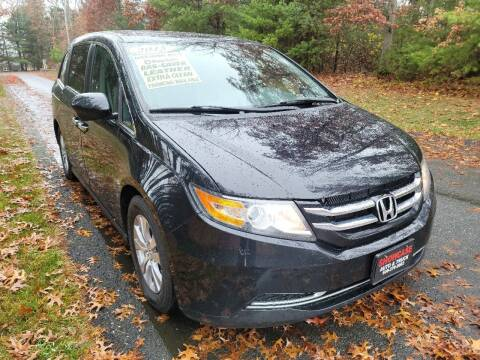 2015 Honda Odyssey for sale at Showcase Auto & Truck in Swansea MA