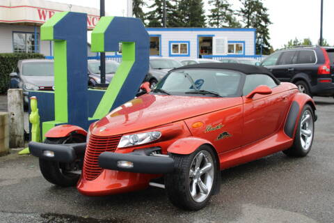 2001 Chrysler Prowler for sale at BAYSIDE AUTO SALES in Everett WA