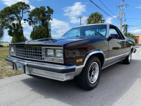 1986 Chevrolet El Camino for sale at American Classics Autotrader LLC in Pompano Beach FL