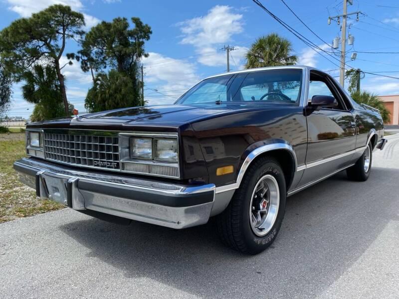 1986 Chevrolet El Camino for sale at American Classics Autotrader LLC in Pompano Beach FL