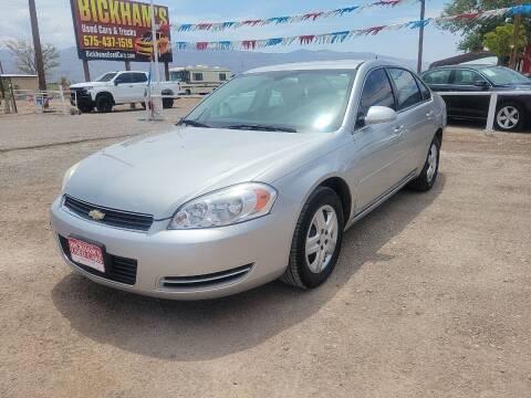 2008 Chevrolet Impala for sale at Bickham Used Cars in Alamogordo NM