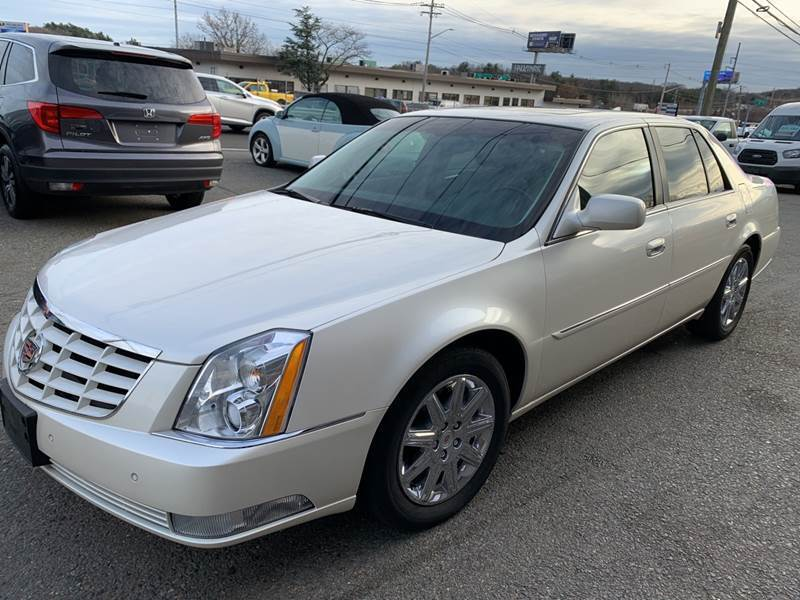 2011 Cadillac DTS for sale at 222 Newbury Motors in Peabody MA