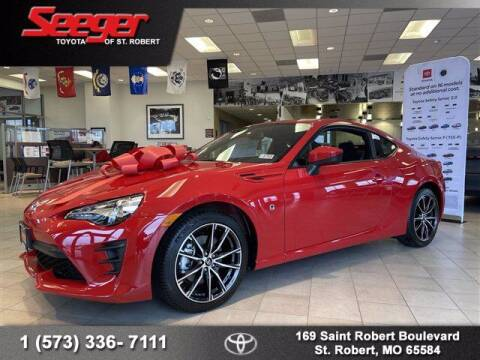 2020 Toyota 86 for sale at SEEGER TOYOTA OF ST ROBERT in St Robert MO