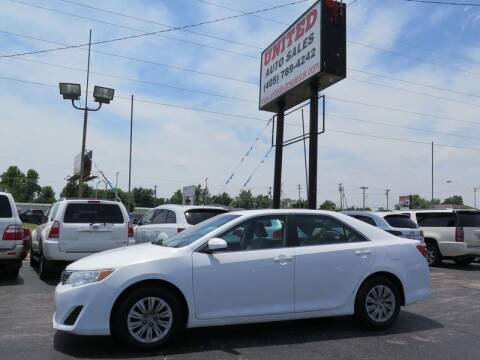 2012 Toyota Camry for sale at United Auto Sales in Oklahoma City OK